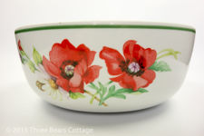 Royal Worcester Poppies Bowl