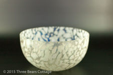 Iridescent Royal Brierley Studio Glass Bowl
