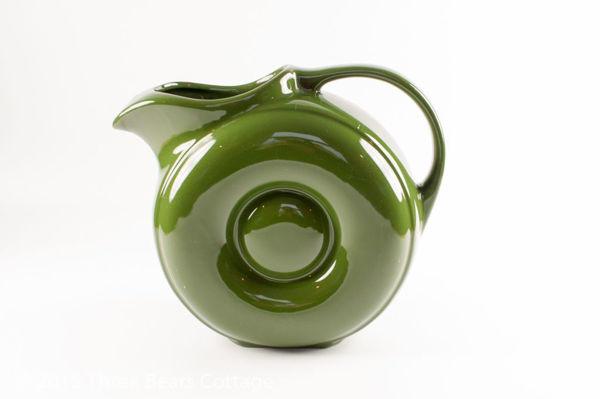 Green Glazed Circular Water Jug