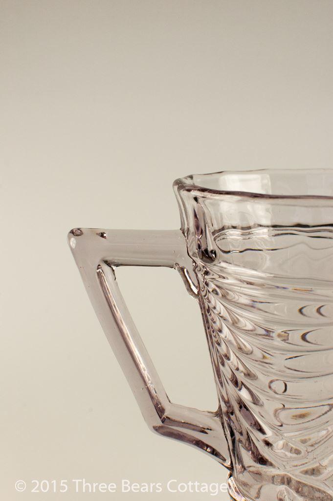 Sowerby Flint Glass Jug