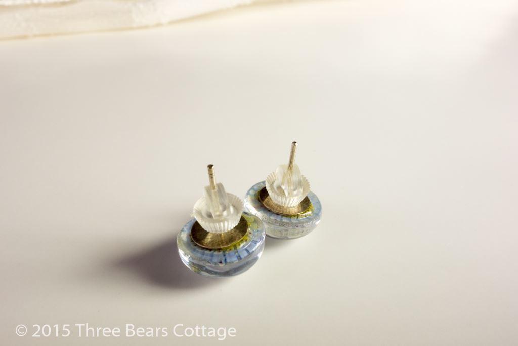 Millefiori Stud Earrings