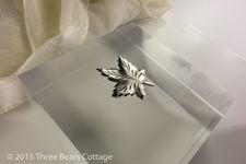Coro Maple Leaf Brooch
