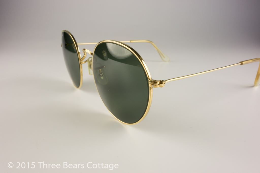 Ray-Ban Bausch & Lomb Round Metal Sunglasses