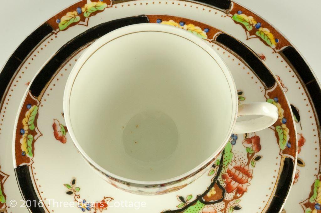 Delphine Teacup, Saucer & Plate Trio