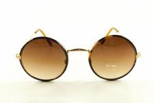 Linda Farrow Round Tortoiseshell Sunglasses