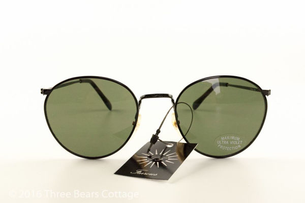 Linda Farrow Rounded Aviator Sunglasses