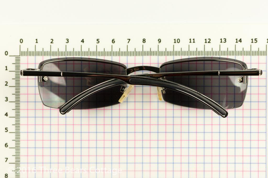 Kangol Smoked Rectangular Sunglasses