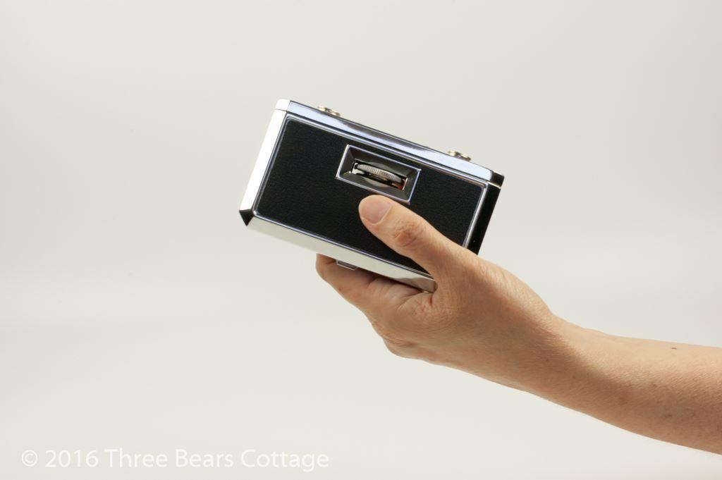 Compact Folding Pocket Binoculars