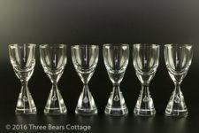 Holmegaard Princess Single-Shot Glasses