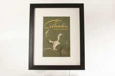 Framed Columbia Record Catalogue for 1946-47