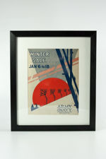 Framed Army & Navy Winter Sale Catalogue from 1930