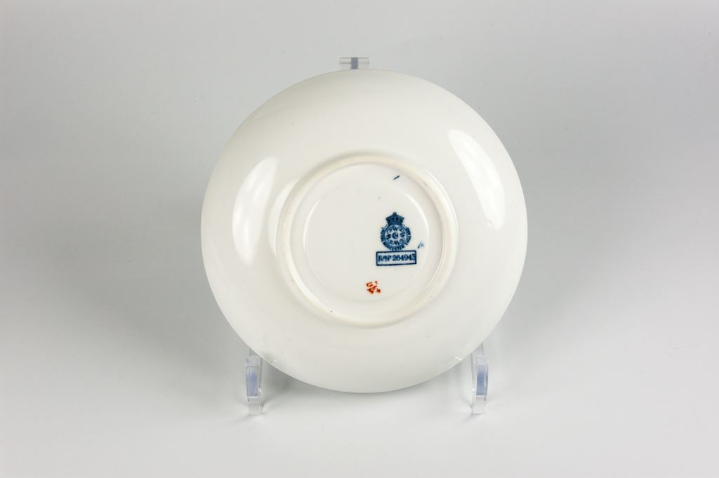 Royal Worcester Cup, Saucer & Plate Trio