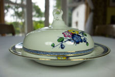 British Anchor Pottery Blackthorn Serving Dish With Lid
