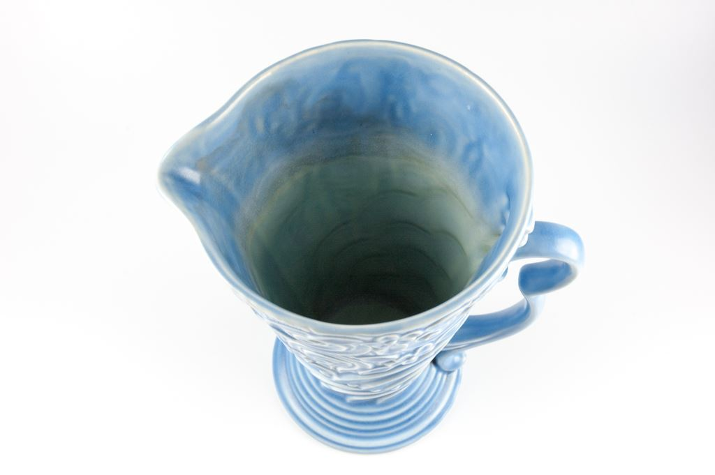 Wade Tall Blue Art Deco Vase
