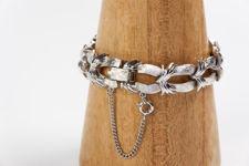 Coro Linked Bow Bracelet
