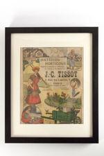 Framed J.C. Tissot Horticultural Catalogue from 1920