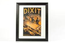 Framed Dixit Belting Brochure from 1938