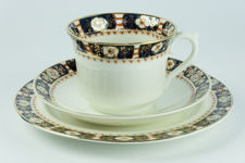 Woods Ware Balmoral Cup, Saucer and Plate Trio