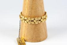 Crown Trifari Leaf Bracelet
