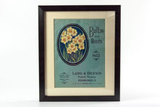 Framed Laird & Dickson Bulbs & Roots Catalogue from 1933
