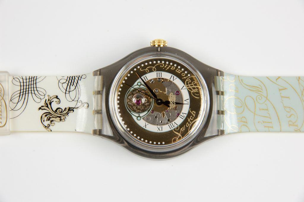 """Swatch """"Pitti"""" Automatic Manual Watch"""