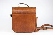 Large Leather Saddle Bag