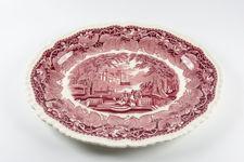 "Mason's Large Oval ""Red Vista"" Serving Platter"