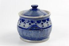 Gres De La Roche Salt Glazed Pot by Jos Kalb