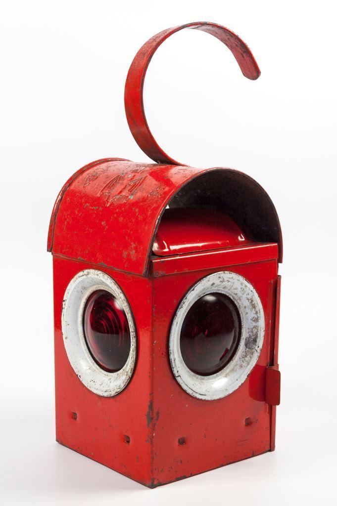"Red Batchlee ""Bat"" Roadworks Lantern"