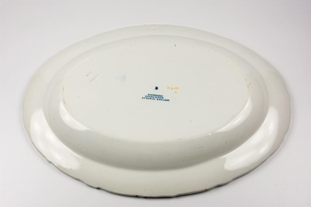 """Wedgwood Oval """"Avonmore"""" Platter"""