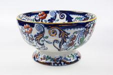 "Ironstone ""Amherst Japan"" Pedestal Bowl"