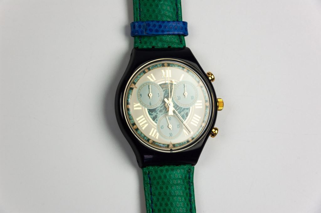 """Swatch """"Performance"""" Chrono Watch"""