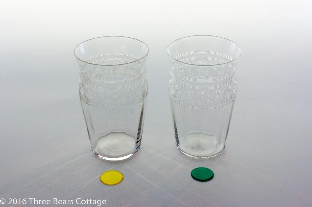 Pall Mall Crystal Shot Glasses