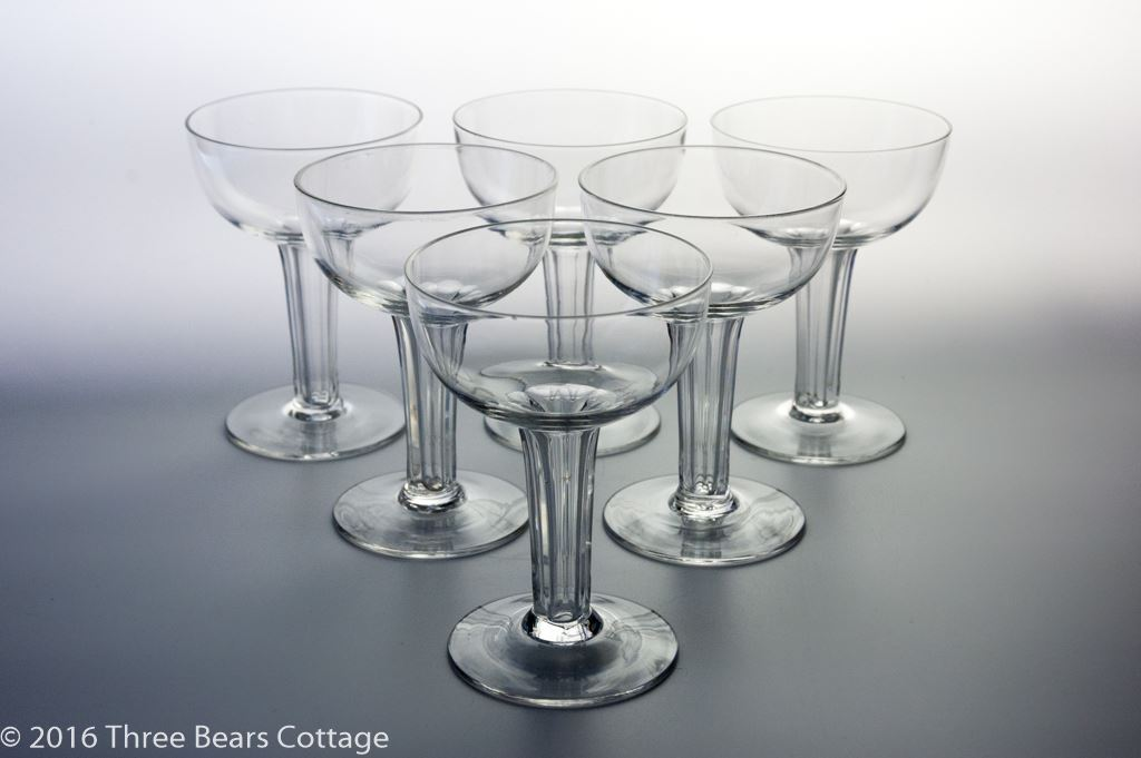 Hollow Stem Champagne Coupes