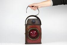 Kenyons Red Railway Lantern