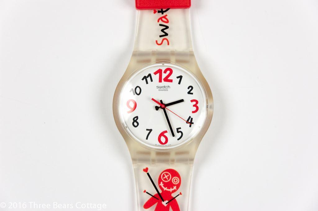 "Swatch ""Feel My Love"" Ladies Watch"