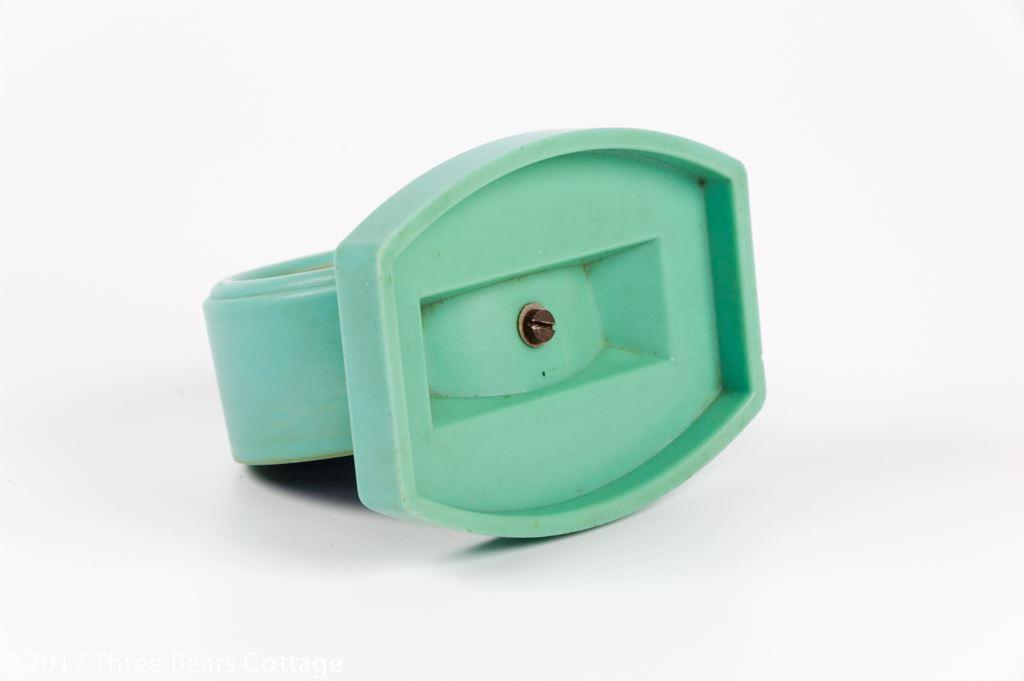 Rototherm Green Bakelite Desk Thermometer