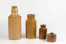 Victorian Salt Glazed Collection With Ginger Beer Bottle