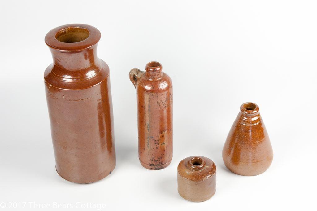 Victorian Salt Glazed Collection With Bols Amsterdam Bottle