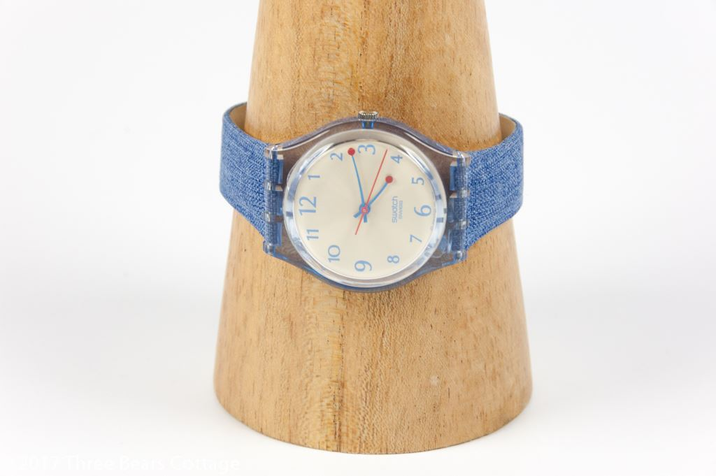 """Swatch """"Flower on You"""" Ladies Watch"""