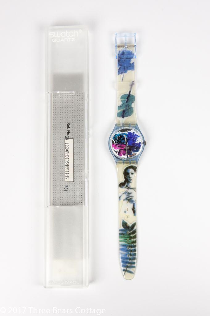 "Swatch ""Photoshooting"" Unisex Watch"