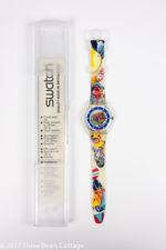 "Swatch ""Tin Toy"" Unisex Watch"
