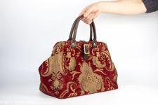 American Gladstone Carpet Bag