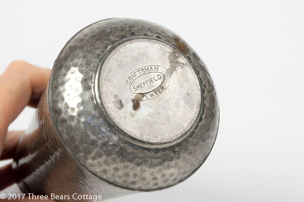 Viner's Craftsman Sheffield Pewter Sugar Shaker