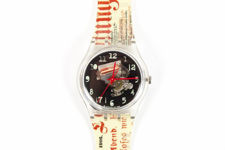 "Swatch ""Dada Traces"" Unisex Watch"