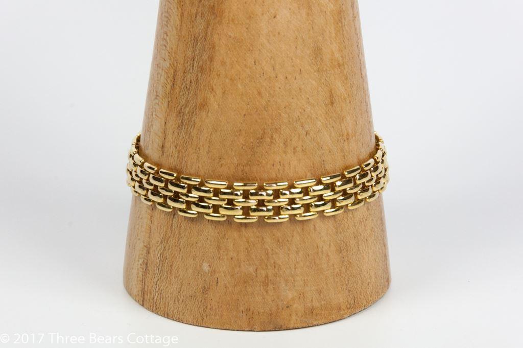 Pierre Cardin Five Bar Necklace and Bracelet Set