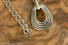 Trifari Oval Pendant Necklace