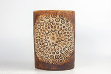 Quantock Pottery Sun Design Vase