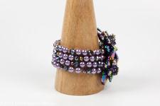 Butler & Wilson Multi Coloured Crystal Flower Bracelet