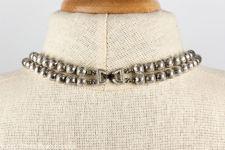 Crown Trifari Double Strand Necklace